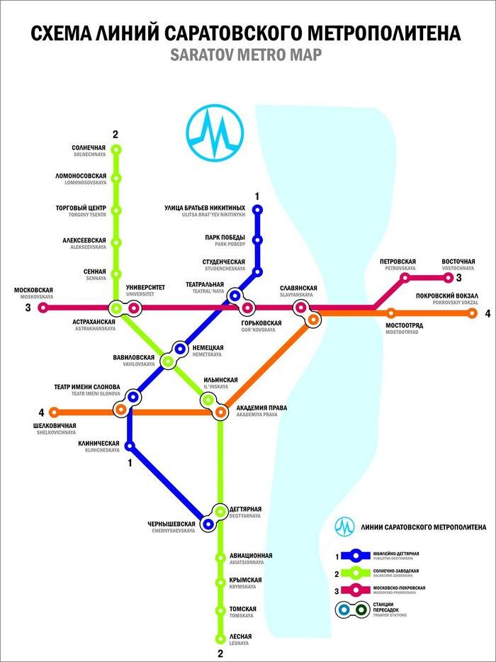Это метро! — Нет, кое-что получше. Это схема метро. Метро, Схема, Саратов