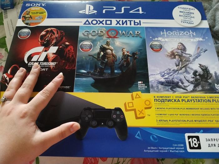 И снова нужен совет геймеров (и немного россказней про покупку PS) Игровая приставка, Playstation 4, Диски