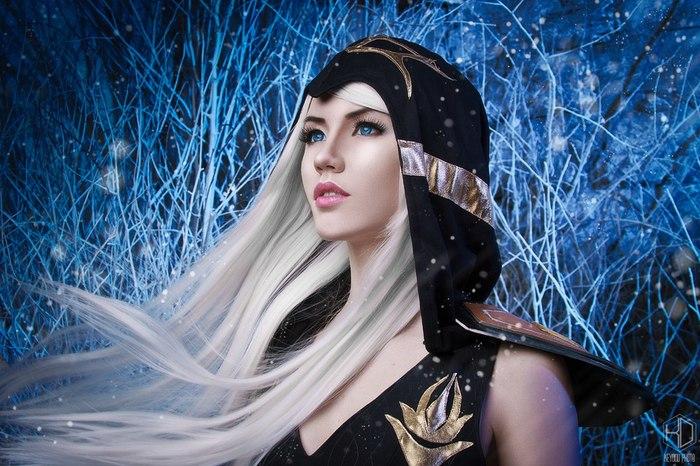 League of Legends - Ashe (Classic) by Luna Luna, League of Legends, Ashe, Косплей, Игры, Девушки, Длиннопост