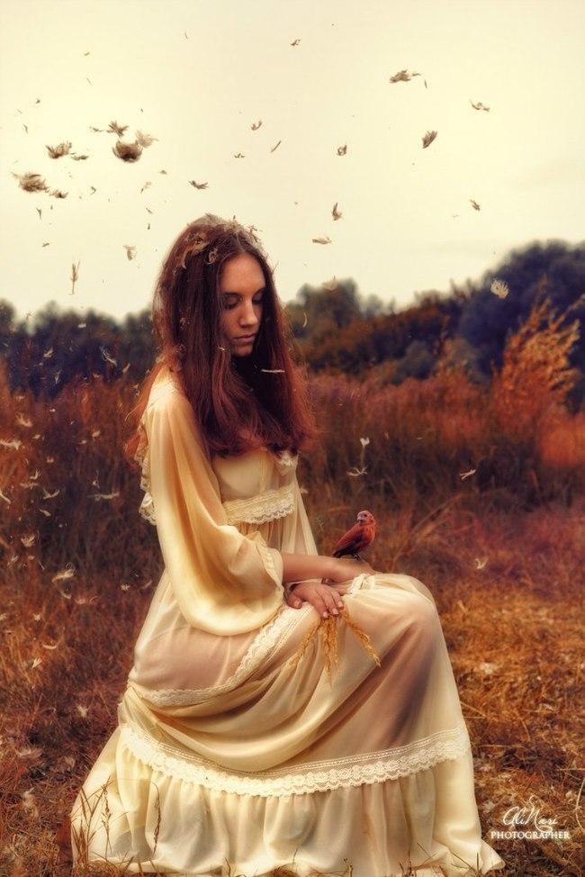 Сказочная фотосессия на природе Красота природы, Волшебство, Красивая девушка, Полет, Лето, Фотосессия, Длиннопост