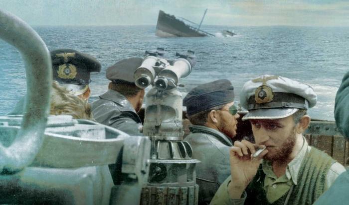 Ребята за работой Кригсмарин, Германия, Подводная лодка, Вторая мировая война, История, Флот, Подводный флот