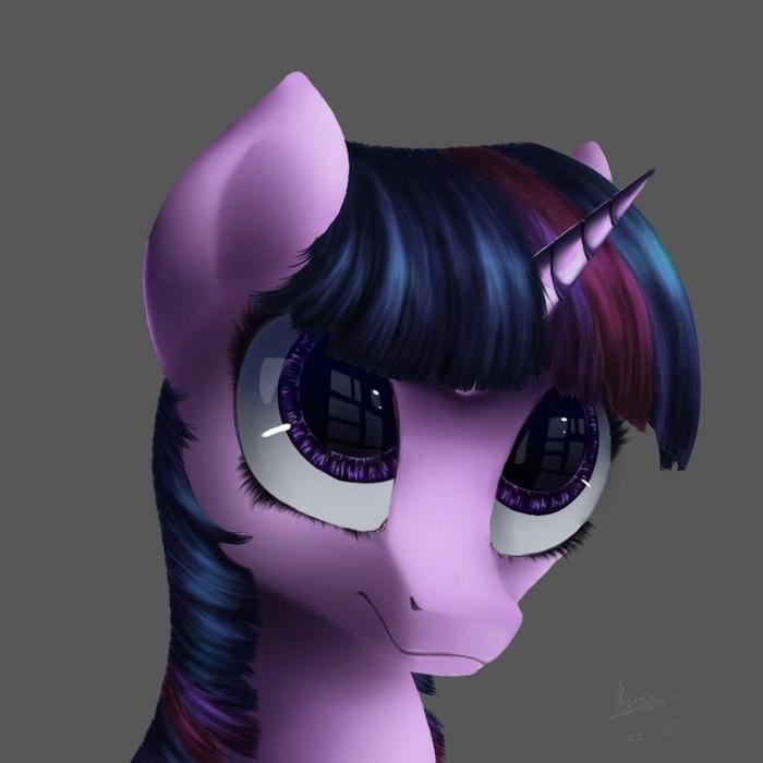 Сумеречная лошадь My Little Pony, Twilight Sparkle, Ponyart