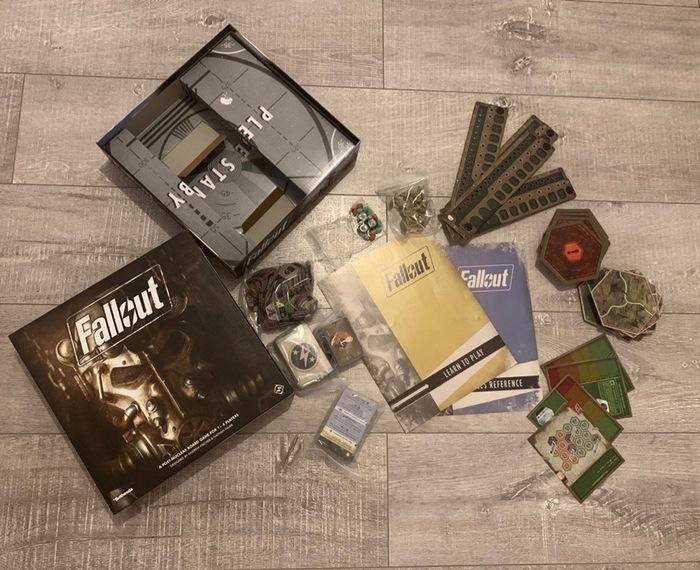 Что будет на наших столах после ядерной войны Настольные игры, Fallout, Обзор, Длиннопост