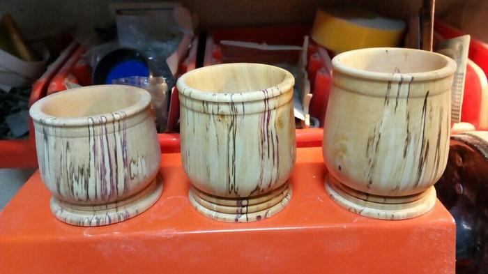 Декоративные стаканчики своими руками. Рукоделие без процесса, Декор, Изделия из дерева, Токарка, Своими руками
