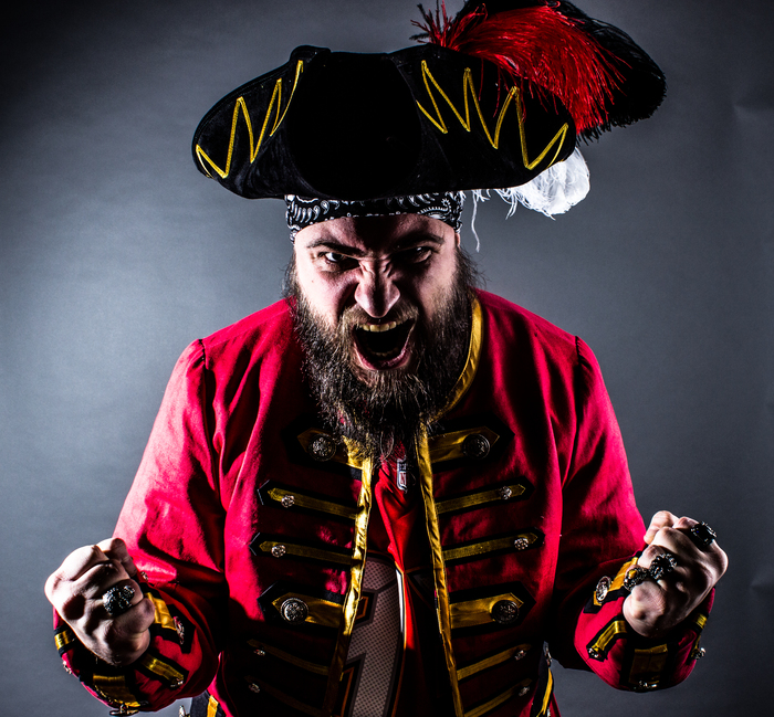 Пиратский костюм для болельщика. Подмостовье, Длиннопост, Одежда, Необычная одежда, Мужской костюм, Пираты, Американский футбол, Супербоул