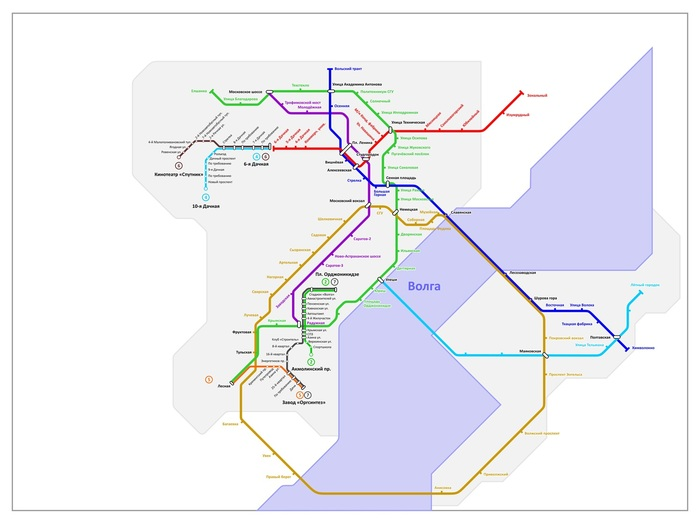 В Саратове окончено строительство очередной ветки метро Метро, Саратов, Транспорт, Карта метрополитена, Утка, Шутка