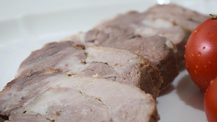 Мясной рулет из свинины. Рулет, Мясо, Sango Food, Видео, Видео рецепт, Длиннопост, Рецепт, Еда, Кулинария