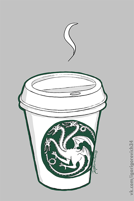 The hottiest coffee in whole Westeros