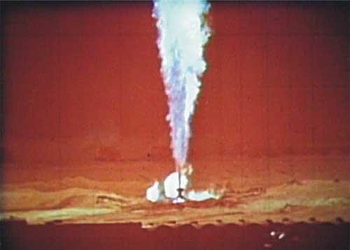 Как с помощью ядерного взрыва погасили пожар. Ядерный взрыв, СССР, Длиннопост, Узбекистан, Месторождение, Пожар, Тушение, История, Интересное