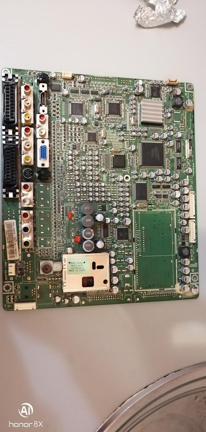 Нужна помощь с телеком Samsung, PS-42S5S. Москва Samsung, Длиннопост, Телевизор