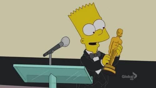 Симпсоны на каждый день [16_Мая] Симпсоны, Каждый день, Премия оскар, Оскар, Гифка, Длиннопост