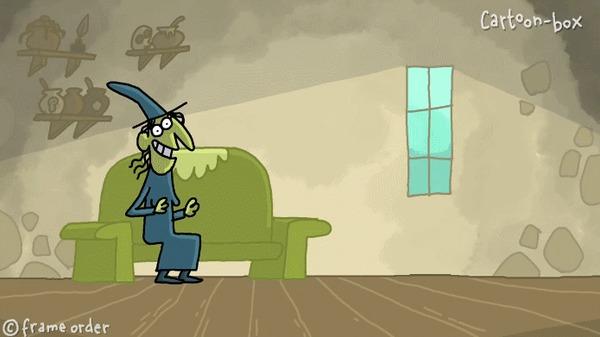 Свидание с ведьмой 2 Frame Order, Юмор, Свидание, Гифка, Cartoon-Box