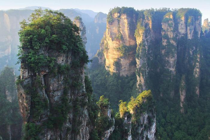 Летающие горы Чжанцзяцзе без толпы - это возможно? Часть 2. Китай, Путешествия, Чжанцзяцзе, Улинъюань, Летающие горы, Длиннопост