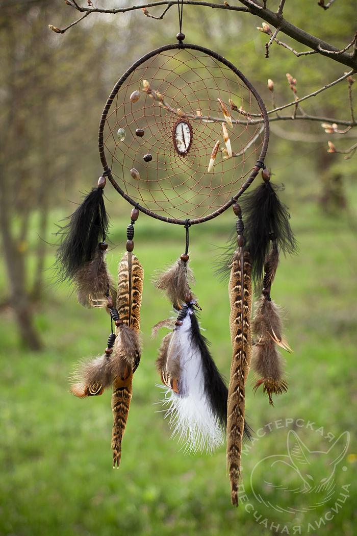 Волчий ловец снов Ручная работа, Своими руками, Длиннопост, Рукоделие без процесса, Ловец снов