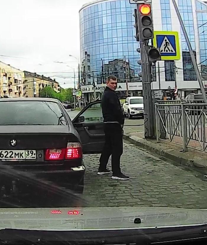 И пусть весь мир подождёт BMW, Быдло, Быдло на дорогах, Видео, Калининград, Негатив