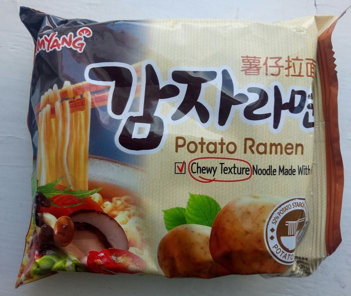 Доширакология. Окрошка-картошка Рамен, Доширакология, Картофель, Корейская кухня, Обзор еды, Кулинария, Длиннопост