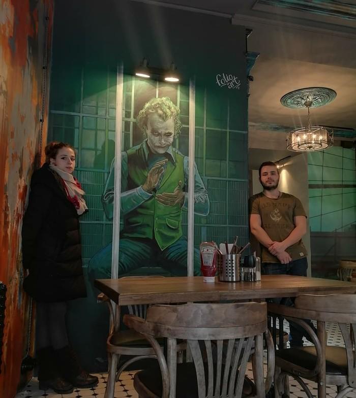 Всем привет я художник Роспись стен, Фреска, Граффити, Роспись стен Москва, Роспись стен на заказ, Роспись фасада, Длиннопост