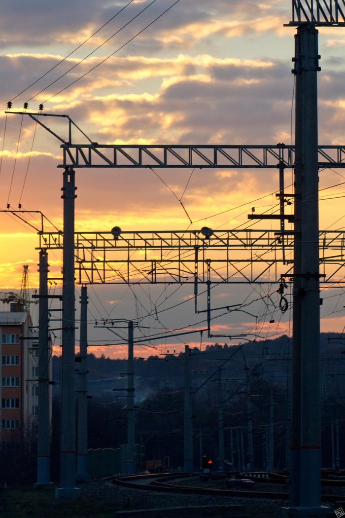 Закат в Пятигорске Закат, Фотография, Пятигорск, Небо, Облака, Город