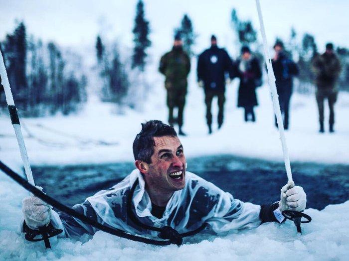 Практические учения британских морпехов из цикла арктической подготовки. Великобритания, Фотография, Морская пехота, Арктические учения, Армия, Длиннопост