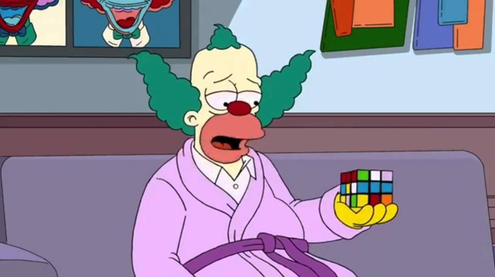 Симпсоны на каждый день [19_Мая] Симпсоны, Каждый день, День рождения, Кубик Рубика
