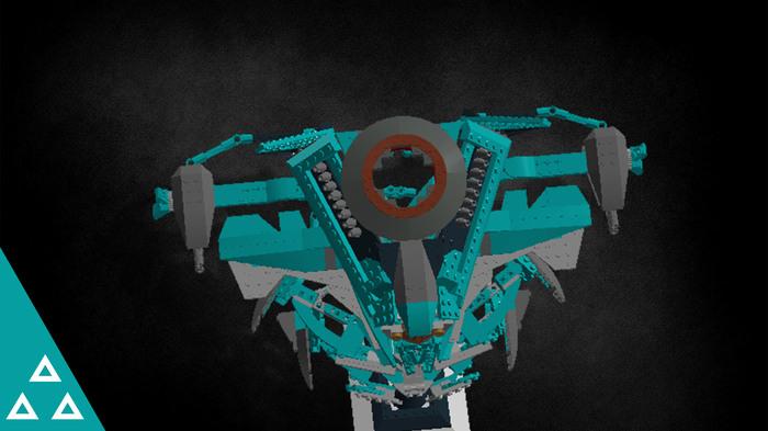 Lego (MegaBloks) Потомок гидры (Hydra Descendant) LEGO, Игры, Игрушки, Destiny, Destiny 2, Megabloks, Гидра, Робот, Длиннопост