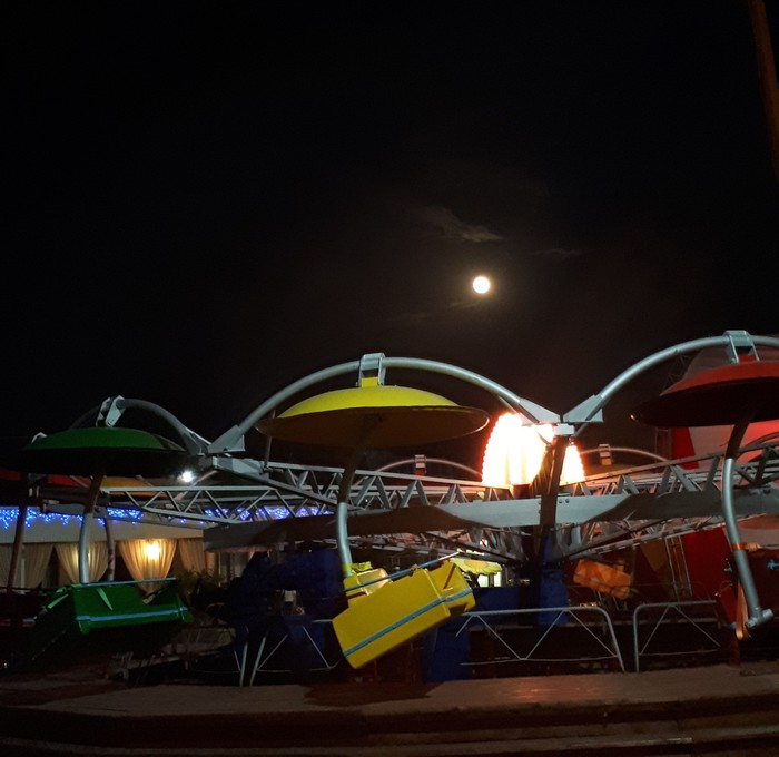 Полнолуние и морько Море, Черное море, Луна, Полнолуние, Фото на тапок, Видео, Длиннопост