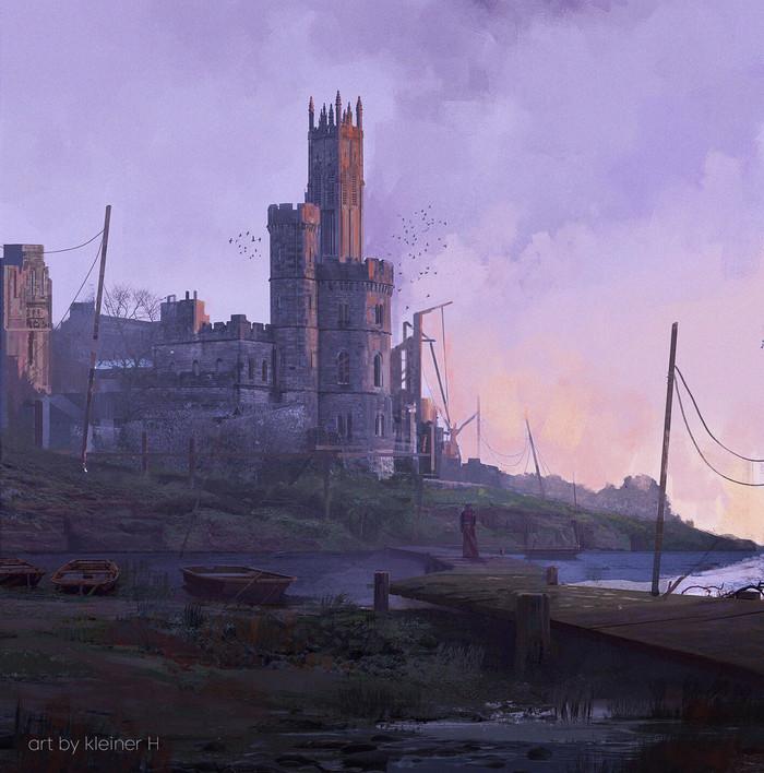 Крепость Арт, Рисунок, Крепость