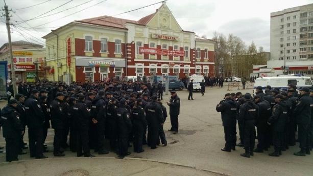 Когда федеральная власть обратила внимание на протесты в Архангельске. Архангельск, Шиес, Мусор, Протест