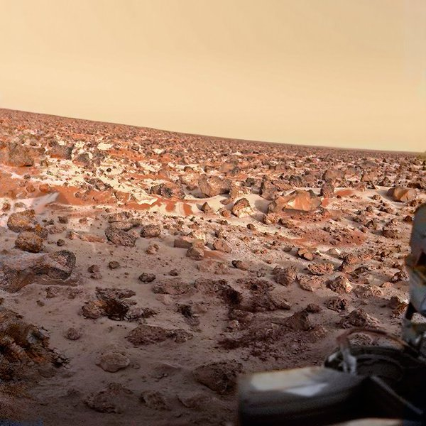 Сорок лет назад, Викинг-1 снял эту фотографию на Марсе Фотография, NASA, Космос, Марс, Зонд, Историческое фото