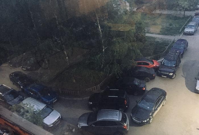 Двор, парковка. Как бороться с Этим? Двор, Соседи, Парковка
