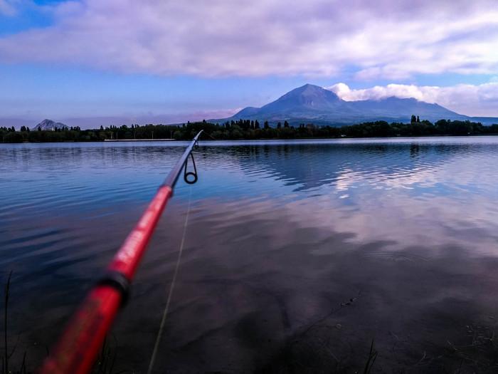 Просто микро рыбалка в Пятигорске Рыбалка, Спиннинг, Микроджиг, Пятигорск, Окунь, Кмв, Озеро, Длиннопост