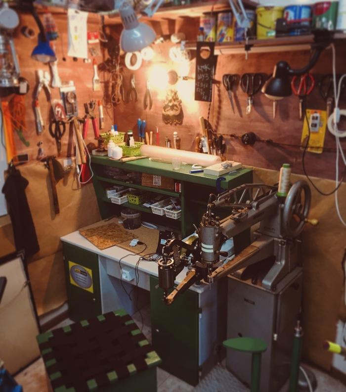 Мастерская обувщика Мастерская, Рабочее место, Обувь, Ручная работа, Инструменты