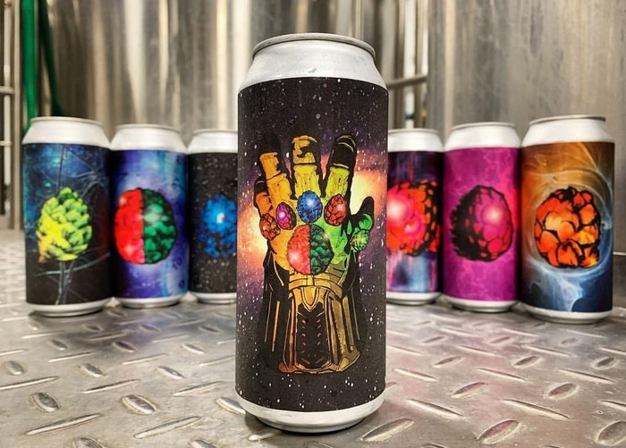 Avengers and beer Пиво, Крафтовое пиво, Мстители, Мстители: Война бесконечности, Длиннопост