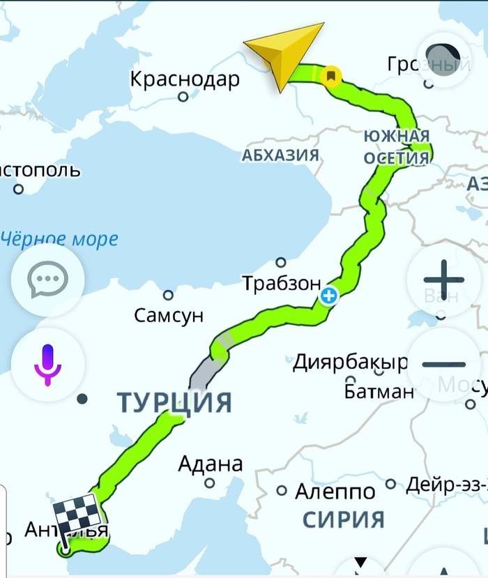 Готовлюсь к авто путешествию СТАВРОПОЛЬ АНТАЛИЯ. Ставрополь, Туризм, Отпуск, Турция, Анталия, Поездка на машине, Туристы, Море, Длиннопост
