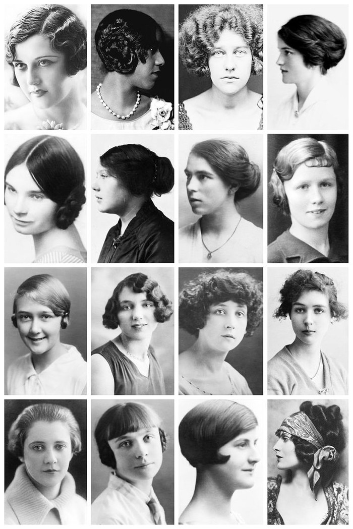 Когда женщины начали носить короткие стрижки Мода, Стрижка, Послевоенная мода, Длиннопост