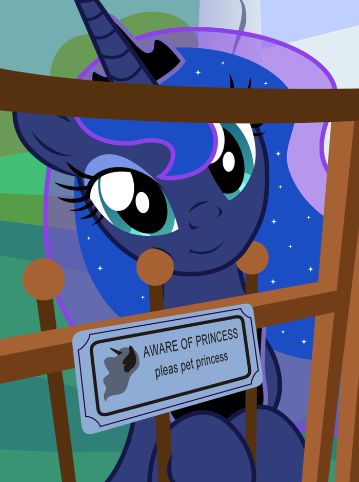 Pleas Pet Princess My Little Pony, Princess Luna, Badumsquish