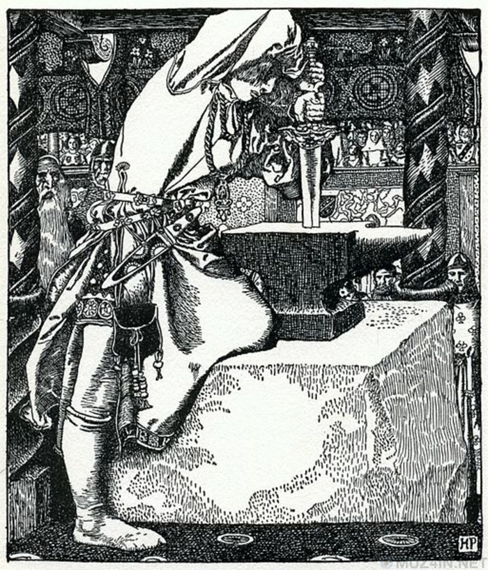 Меч в камне в Тоскане является настоящим и, вероятно, вдохновением для Экскалибура История, Король Артур, Легенда, Экскалибур, Италия, Меч, Средневековье, Длиннопост