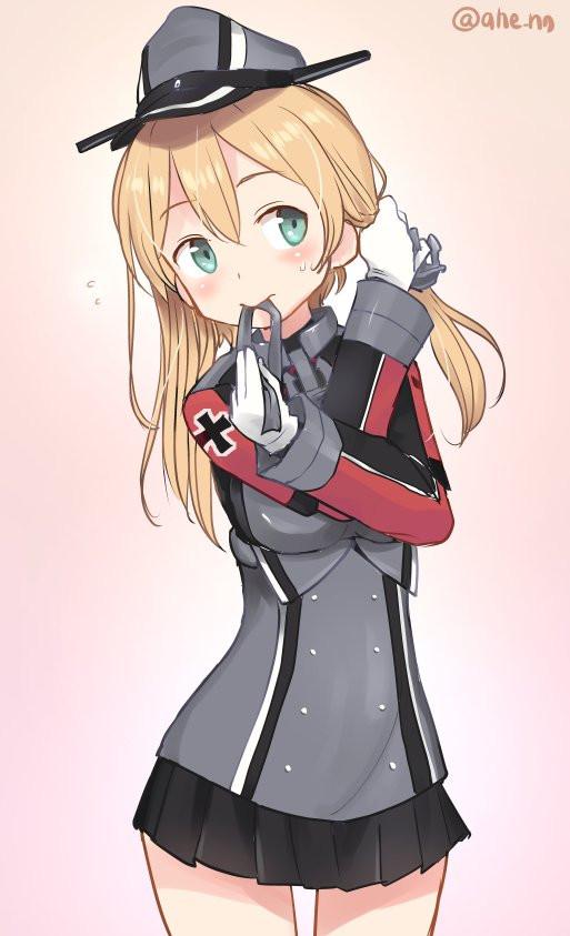 Purinzu Kantai Collection, Prinz Eugen, Аниме, Anime Art