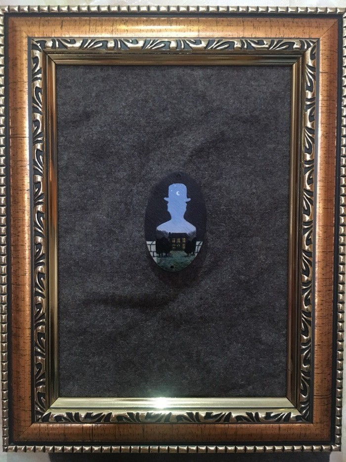 Картины в Миниатюре Брошь, Своими руками, Ван Гог, Казимир Малевич, Рукоделие без процесса, Длиннопост, Картина, Рене Магритт