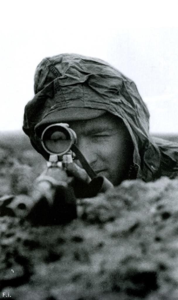 Из воспоминаний немецкого снайпера Бруно Сюткуса Снайперы, Вторая мировая война, Война, Немцы, Длиннопост