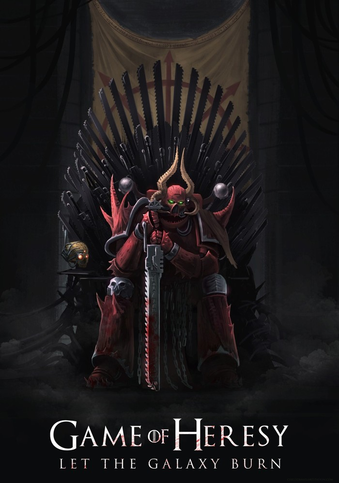 Game of Heresy Wh Art, Warhammer 40k, Heresy, Игра престолов, Длиннопост