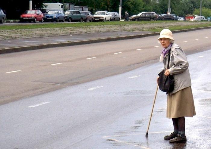 Бабушки - смертницы из Брянска. Автомобилисты, Дорога, ДТП, Пешеходы и водители, Брянск