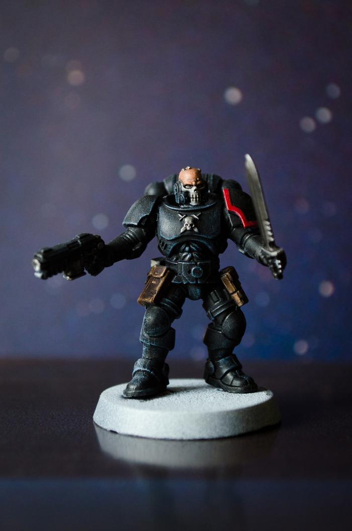 "Quoth the Raven, ""Nevermore."" Warhammer 40k, Wh miniatures, Primaris Space Marines, Длиннопост, Покраска миниатюр"