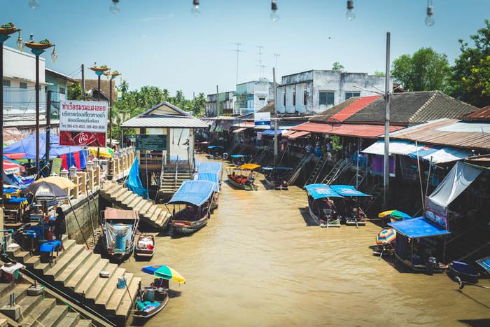 Поездка на плавучий рынок Амфава в Таиланде Таиланд, Фотография, Путешествия, Длиннопост