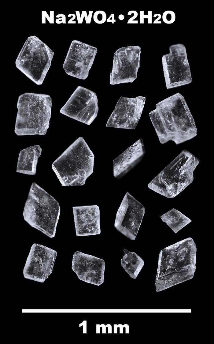 Кристаллы вольфрамата натрия Кристаллы, Микроскоп, Вольфрам, Соль, Химия, Лига химиков