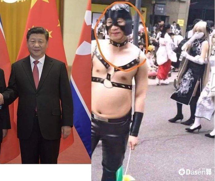 Темная сторона Председателя Косплей, Юмор, Совпадение, Бред, Япония, Китай, Си цзиньпинь, Van Darkholme