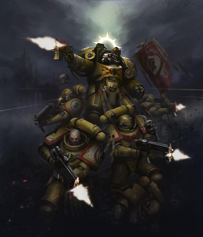 Kill Team illustrations by Mikhail Savier Warhammer 40k, Kill Team, Adeptus Astartes, Chaos Space marines, Орки, Mikhail savier, Wh Art, Длиннопост