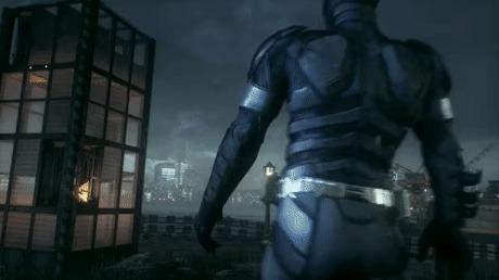 """""""Корбен, детка, больше эмоций"""" Бэтмен, Игры, Пятый элемент, Гифка, Batman Arkham Knight"""