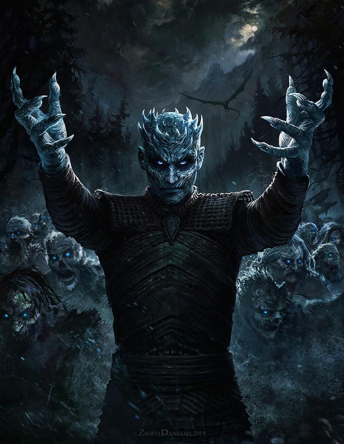 Король Ночи Игра престолов, Король ночи, Вихты, Арт, Спойлер, Whiluna