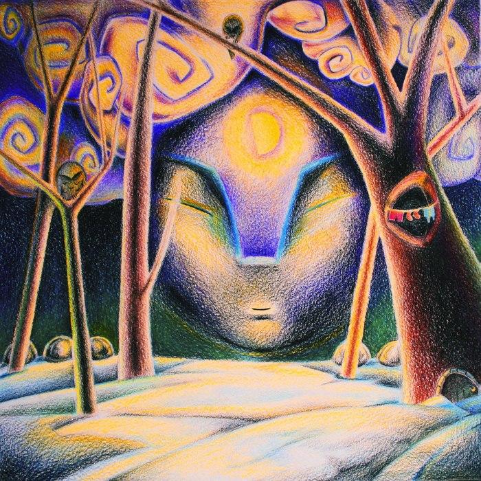 Ночь Арт, Акварельные карандаши, Ночь, Рисунок, Цветные карандаши, Иллюстрации, Сказка